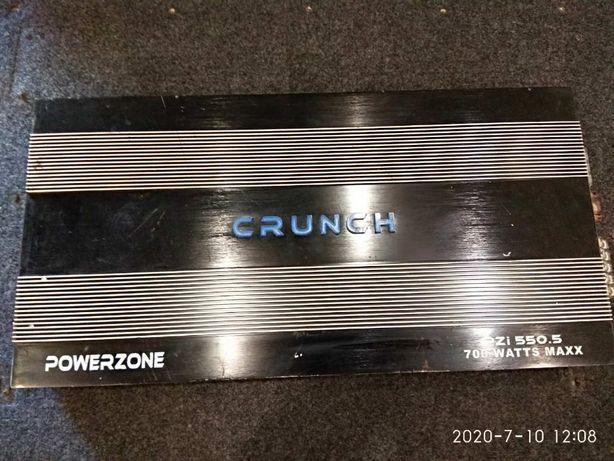 Продам автомобильный усилитель Crunch PZI 550.5