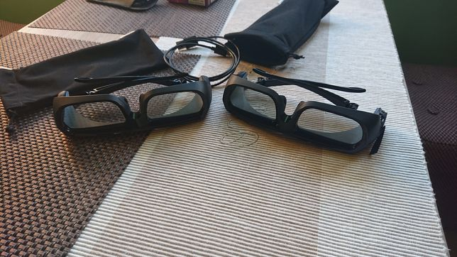 Sprzedam okulary 3D SONY