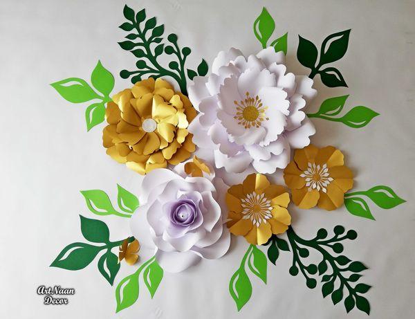 Kwiaty z papieru, dekoracje okolicznościowe