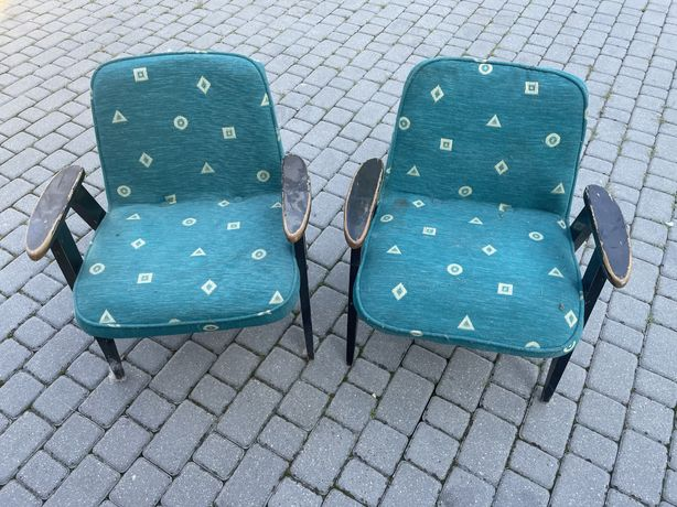 Fotele  PRL , stan bardzo dobry