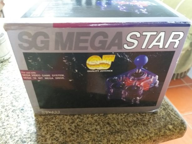 Sega - SG Megastar - Joystick - Novo