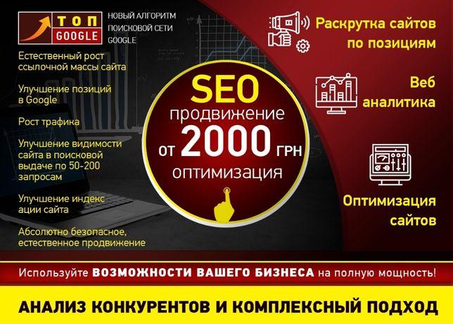 Трафик, посетители на сайт, продвижение сайта, контекстная реклама