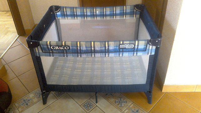 Kojec GRACO, łóżeczko turystyczne, łóżko