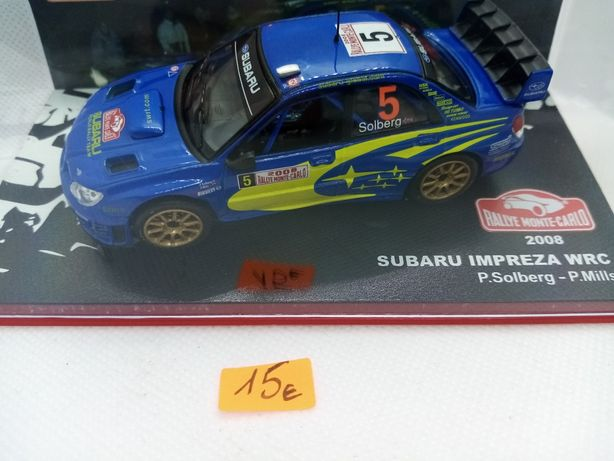 Miniaturas. SUBARU de Rally na escala de 1/43