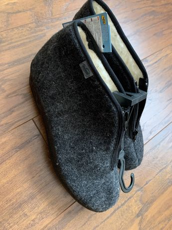 Befado bambosze kapcie tatrzanki babcine pantofle wełna 41