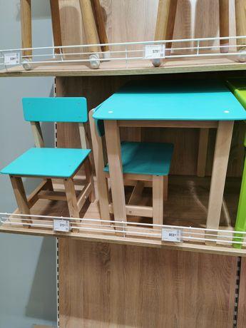 Комплект Стол, стул, детская мебель, столик стульчик, столешка, дето