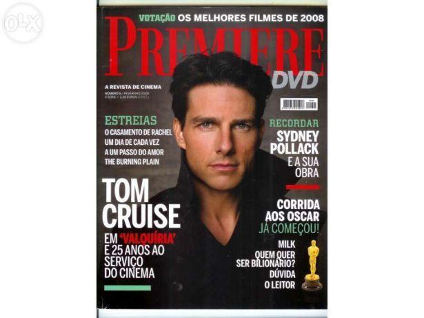 Revista Premiere - Capa Tom Cruise (portes incluídos)