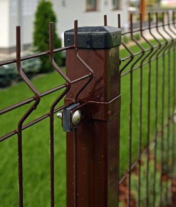 Panel ogrodzeniowy fi 4mm H 122cm ocynkowane malowane proszkowo