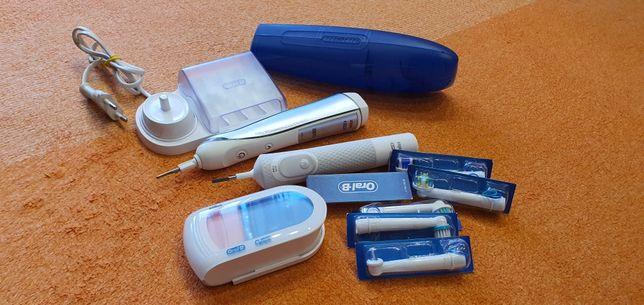 Две зубная щетки Oral-B Triumph D34/5000 Smart Guide и oral-b pro