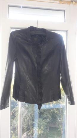 Продам кожанный пиджак BERTINI