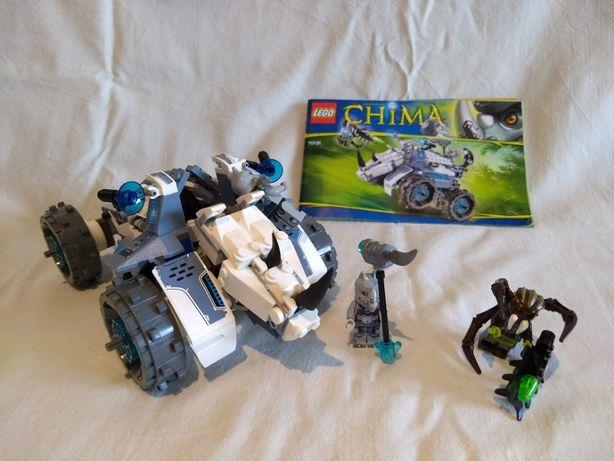 LEGO Chima 70131 brak 1 klocka instrukcja bez pudełka