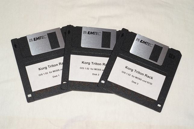 Korg Triton Rack - System operacyjny OS 1.52