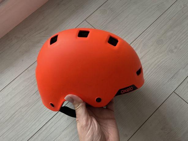 Kask oxelo 55-59 cm pomarańczowy