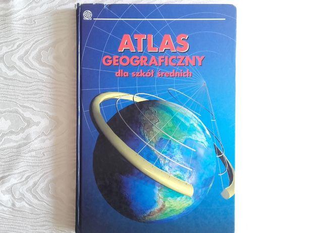 Atlas geograficzny dla szkół średnich