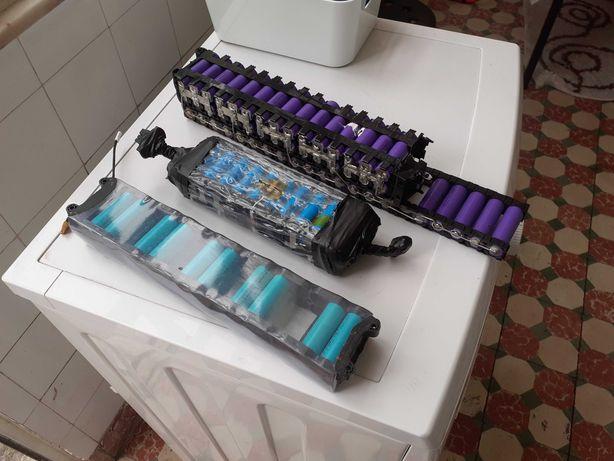 Baterias de litio estragadas para aproveitamento de células .