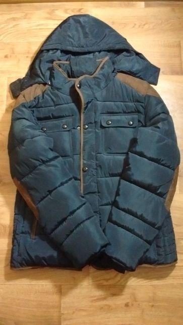 Куртка зимняя - теплая - большой размер