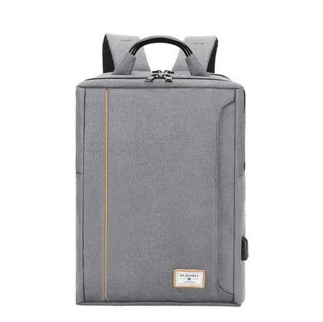 Тканевый городской рюкзак Golden Wolf GB00379, 22л Серый