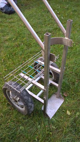 Wózek transportowy do spawarki i butli