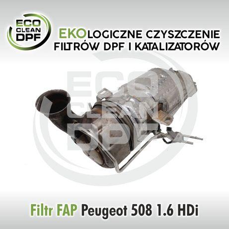 Peugeot 508 1.6, 2.0, 2.2 HDI- FAP, DPF, Filtr cząstek stałych.
