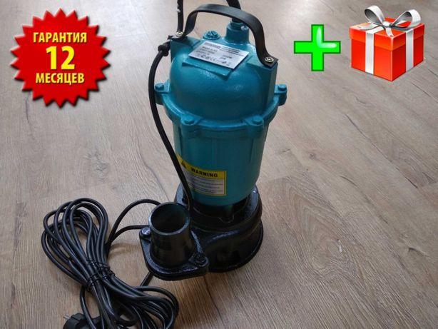 Дренажный фекальный насос погружной для грязной воды Euro Craft №137