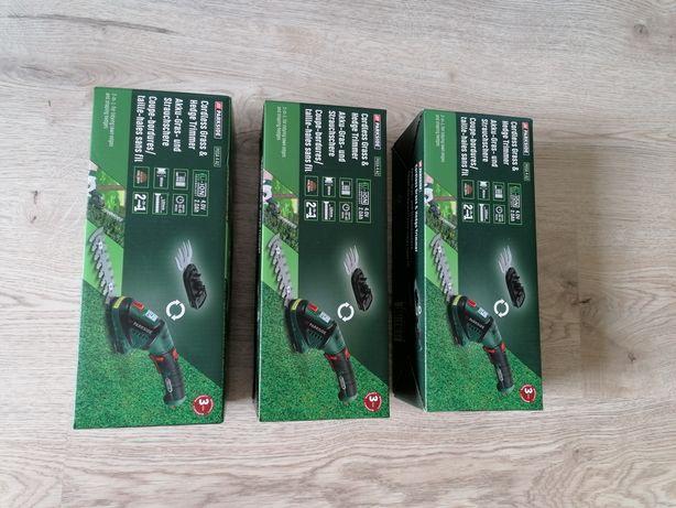 Nowe nożyce akumulatorowe Parkside do trawy i krzewów