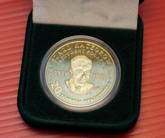 Moneta z Prezydentem Ryszardem Kaczorowskim, Unikat