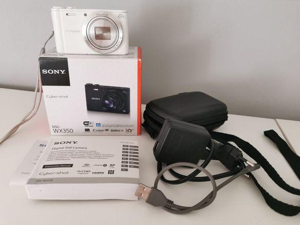 Aparat SONY DSC - WX 350 + etui gratis.
