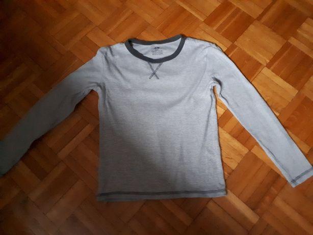 Bluzki dł. rękaw kpl. 5szt H&M i C&A roz.134/140