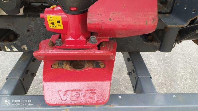 Zaczep sam ciężarowy 2 tony ręczny i pneunatyczny