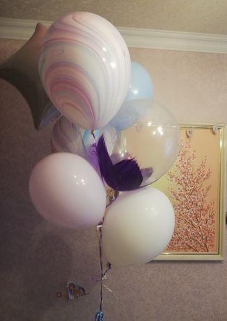 Кульки гелеві , фонтан з кульок