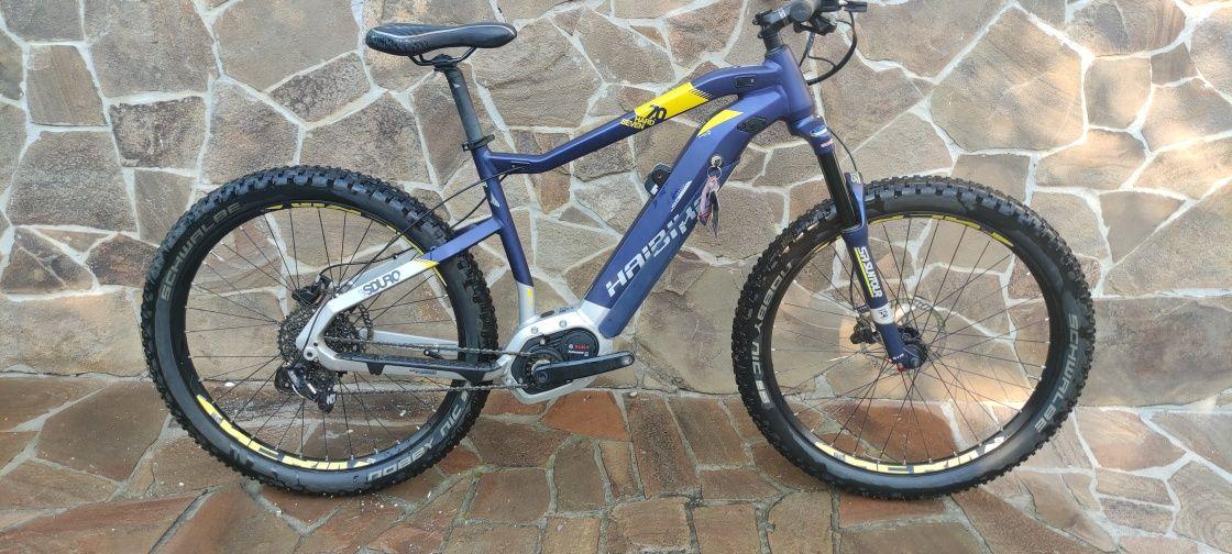 "Электровелосипед 27,5""+Haibike SDURO HardSeven 7.0 500Wh (2019) синий"
