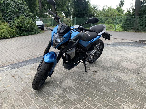Motocykl CFMOTO 150ccm jak nowy, tylko 70km przebiegu !