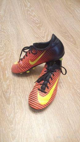 Футбольные бутсы Nike Mercurial р.35, 22см