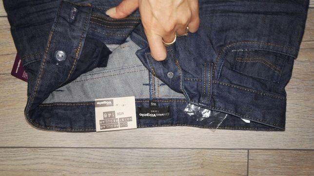Nowe spodnie jeansowe dla chlopca 146