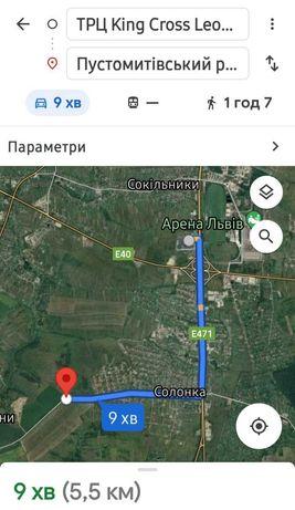 Земельна ділянка біля Львова