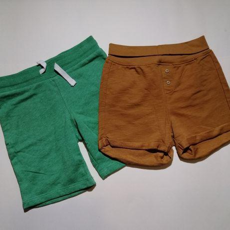 Шорти шорты H&M комплектом нові 3-4 роки