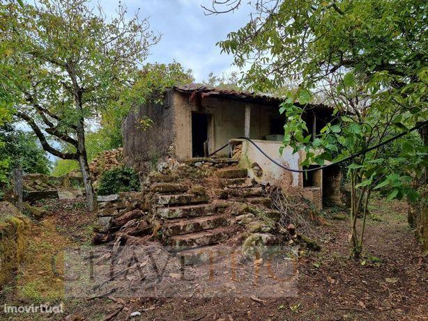 Casa antiga em pedra, em ambiente extraordinariamente idí...