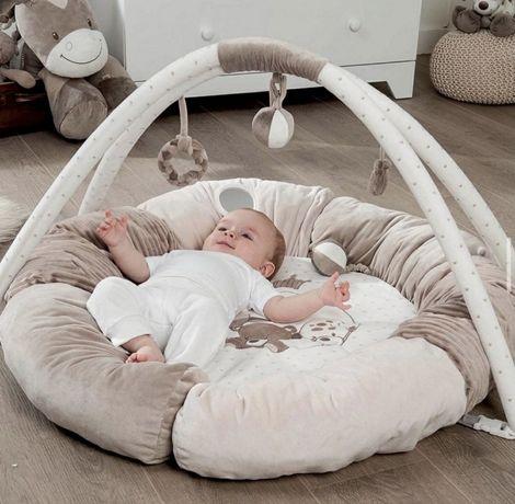 Коврик Nattou развивающий с дугами и подушками Макс Ноа и Том