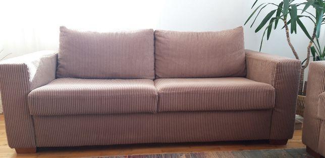 Kpl. kanapa (rozkładana) + fotel