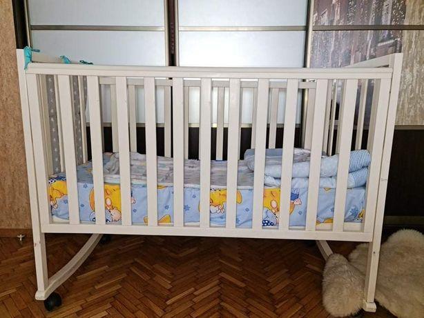Кроватка детская Верес+матрас+карманы. Самовывоз Воскресенка