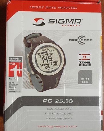 Pulsometr Sigma PC 25.10 jak nowy z pudełkiem
