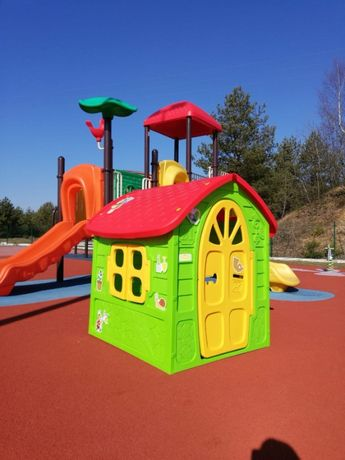 Duży DOMEK ogrodowy dla dzieci