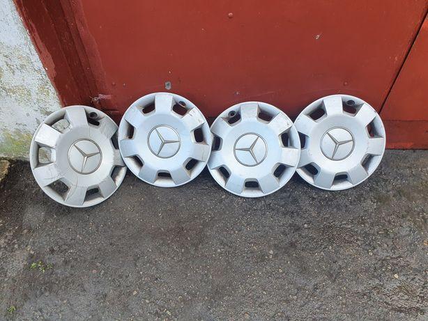 Kołpaki Oryginalne Mercedes Benz 15stki Komplet Bardzo Ładne !!