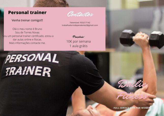 Anúncio Personal Trainer
