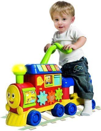 Pociąg pchacz jezdzik Smily
