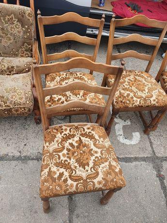 Krzesła stylowe duże 4szt.