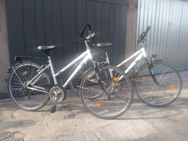 Sprzedam parę rowerów aluminiowych Mc Kenzie. Koła 28. Biegi 3 razy 7