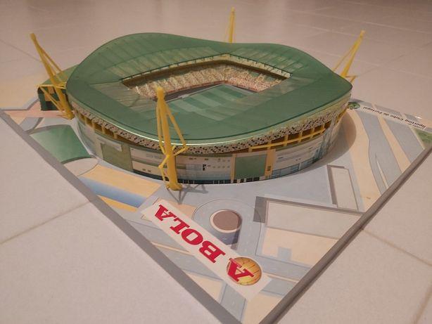 Maquete estádio de Alvalade