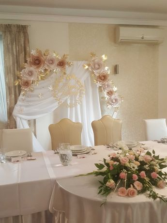 Ścianka kwiatowa. Ścianka dekoracyjna Ślub i wesele