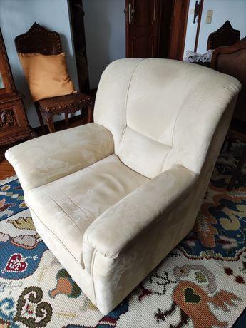 Conjunto 2 sofás vintage